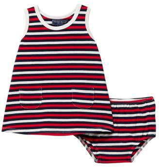 Toobydoo Shae Striped Tank Dress (Baby, Toddler, & Little Girls)