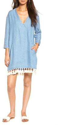 Women's Rails Elena Chambray Tunic Dress $168 thestylecure.com