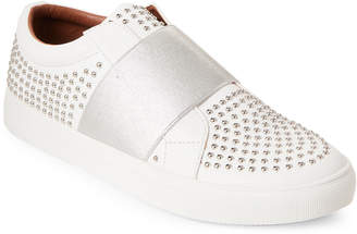 Report White Acer Studded Slip-On Sneakers