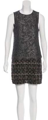 Dolce & Gabbana Lace-Paneled Shift Dress