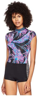 Hurley Quick Dry Koko Surf Suit Women's Swimsuits One Piece