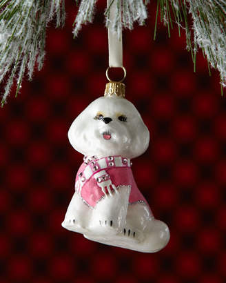 Joy To The World Collectibles Bichon Frise Dog Christmas Ornament