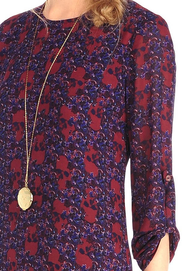 House Of Harlow Candence Maxi In Skull Paisley