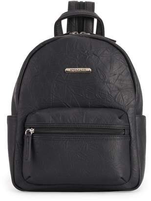 Co Stone & Nancy Drawn Grain Leather Backpack