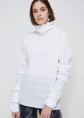 Y/Project Pleated Turtleneck