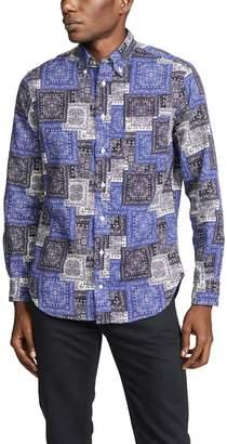 Gitman Brothers Paisley Twill Shirt