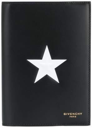 Givenchy star patch passport holder