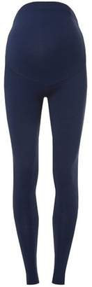 Dorothy Perkins Womens **Maternity Navy Cotton Over The Bump Leggings