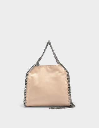 55f1262d75d4 Stella McCartney Shaggy Deer Falabella Mini Tote Bag in Powder Eco Leather