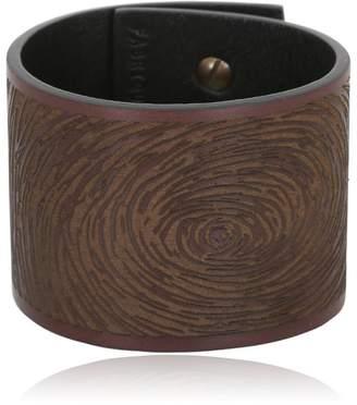 Digital Leather Bracelet