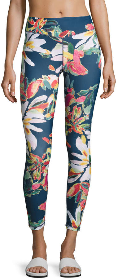 Charlie JadeCharlie Jade Floral-Print Performance Leggings, Multipattern