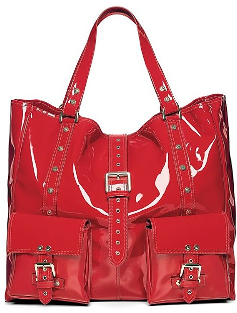 Mulberry Icons Patent Vinyl Roxanne Tote
