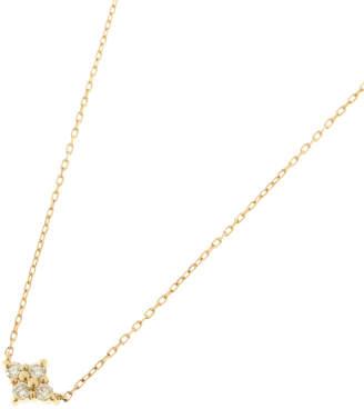 COCOSHNIK (ココシュニック) - ココシュニック COCOSHNIK K18ダイヤモンド フラワーネックレス (イエローゴールド)