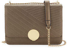 Neiman Marcus Diagonal Quilted Flap Crossbody Bag