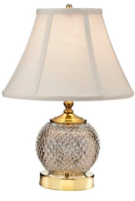 Waterford table lamps shopstyle waterford alana lead crystal mini table lamp aloadofball Image collections