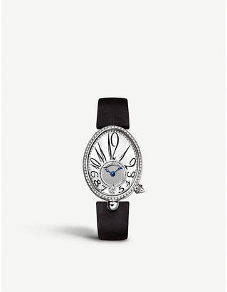 Breguet 8918BB/58/864/D00D Reine de Naples 18ct white-gold