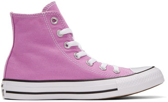 Converse Purple Classic Chuck Taylor All Star OX High-Top Sneakers $55 thestylecure.com