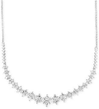 Macy's Wrapped In Love Diamond Necklace (2-1/2 ct. t.w.) in 14k White Gold, Created for