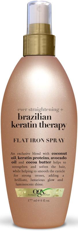 OGX Ever Straight - Brazilian Keratin Therapy Flat Iron Spray