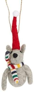 HBC Mouse With Scarf Ornament