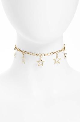 Women's Frasier Sterling Seeing Stars Choker $33 thestylecure.com