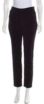 Dolce & Gabbana Skinny Velvet Pants w/ Tags Black Skinny Velvet Pants w/ Tags