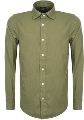 G Star Raw Long Sleeved Bristum Shirt Green