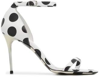 Maison Margiela polka dot pumps