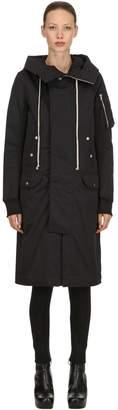 Rick Owens Hooded Bomber Coat