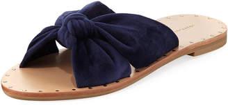 Loeffler Randall Lucia Knotted Flat Slide Sandal