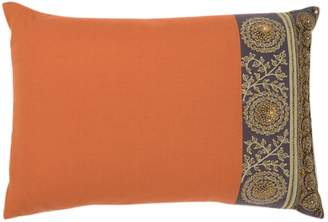 Nordstrom Metallic Floral Embroidery Pillow