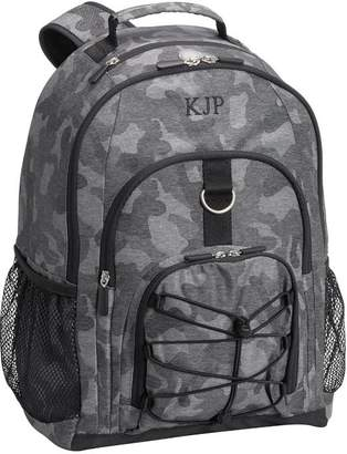 Pottery Barn Teen Gear-Up Heathered Black Camo Backpack