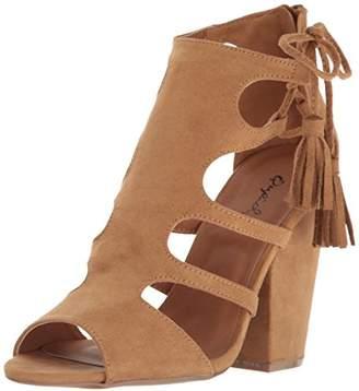 Qupid Women's Sawyer-44 Dress Sandal