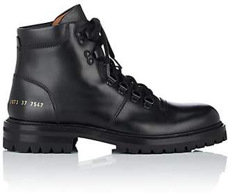 Common Projects Women s Leather Hiking Boots - Black d35fb3c1938