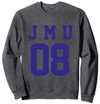NCAA James Madison JMU Dukes Women's Sweatshirt jmud1006