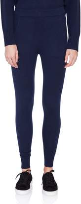 Allude Navy Cashmere Leggings