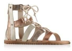 Sorel Leather Gladiator Sandals