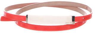 Jimmy ChooJimmy Choo Patent Leather Hip Belt