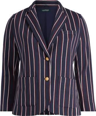 Ralph Lauren Striped Jacquard Blazer