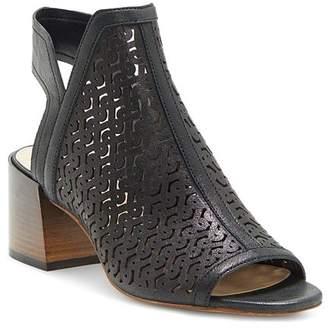 Vince Camuto Women's Sternat Laser-Cut Stacked Heel Sandals