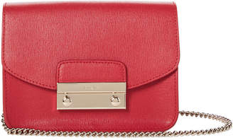 Furla Ruby Julia Saffiano Leather Mini Crossbody