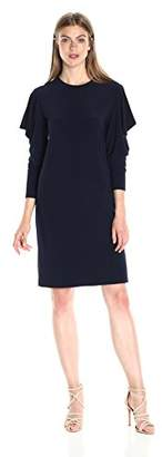 Norma Kamali Women's Wing Sleeve Dress
