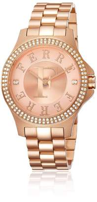 Ferré Milano Women's FM1L022M0081 Rose Gold dial with gold Stainless-Steel band Watch.