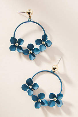 Anthropologie Buttercup Drop Earrings