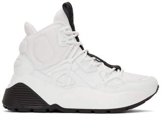 Stella McCartney White Eclypse High-Top Sneakers