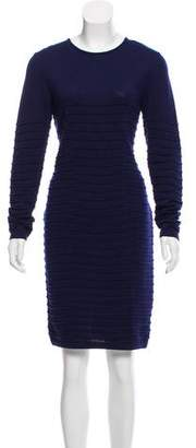 Blumarine Virgin Wool Knit Dress