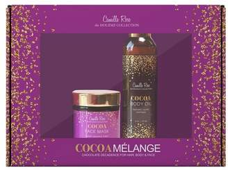 Melange Home Camille Rose Natural Camille Rose Cocoa Holiday Giftset