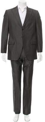 Dolce & Gabbana Herringbone Two-Piece Suit