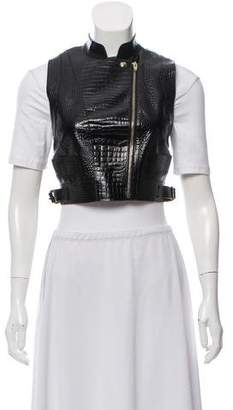 Alexander Wang Leather Cutout Vest