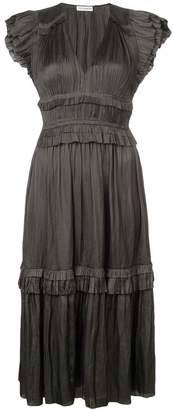 Ulla Johnson micro-pleated dress